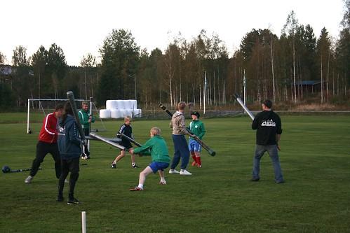 Jugger, första träning