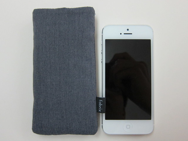 Fabrix Case For iPhone 5 - With iPhone 5