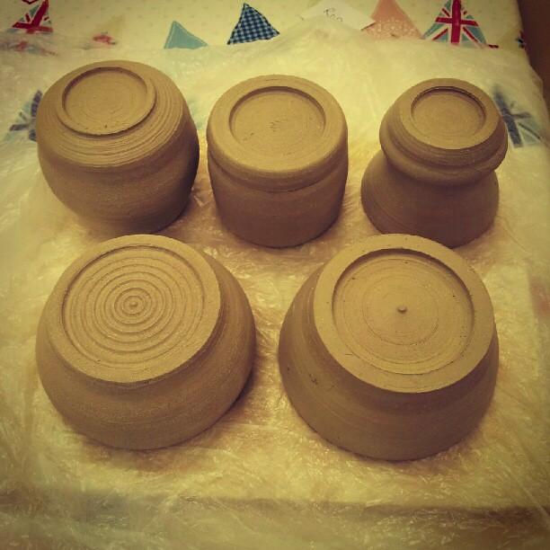 Week 3: turning pots