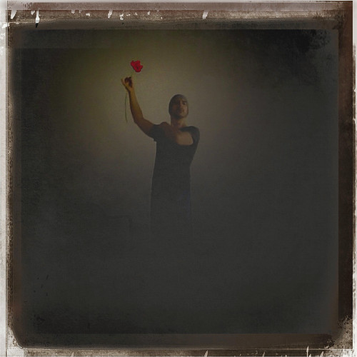 The Rose (From My Butoh Vlog) (Digital Work Over Photograph. 2012)