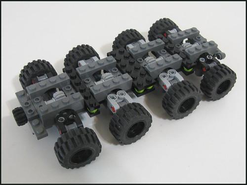 LEGO steering