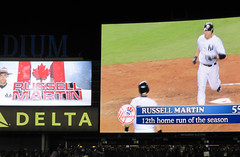 Canadian player Russell Martin