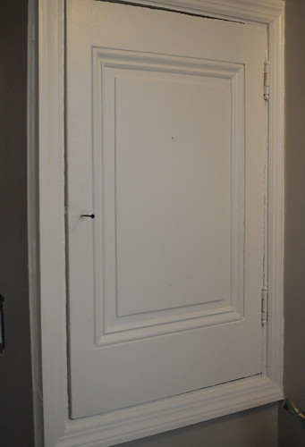 recessed bathroom storage