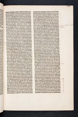 Manuscript annotations in Institoris, Henricus and Jacobus Sprenger: Malleus maleficarum