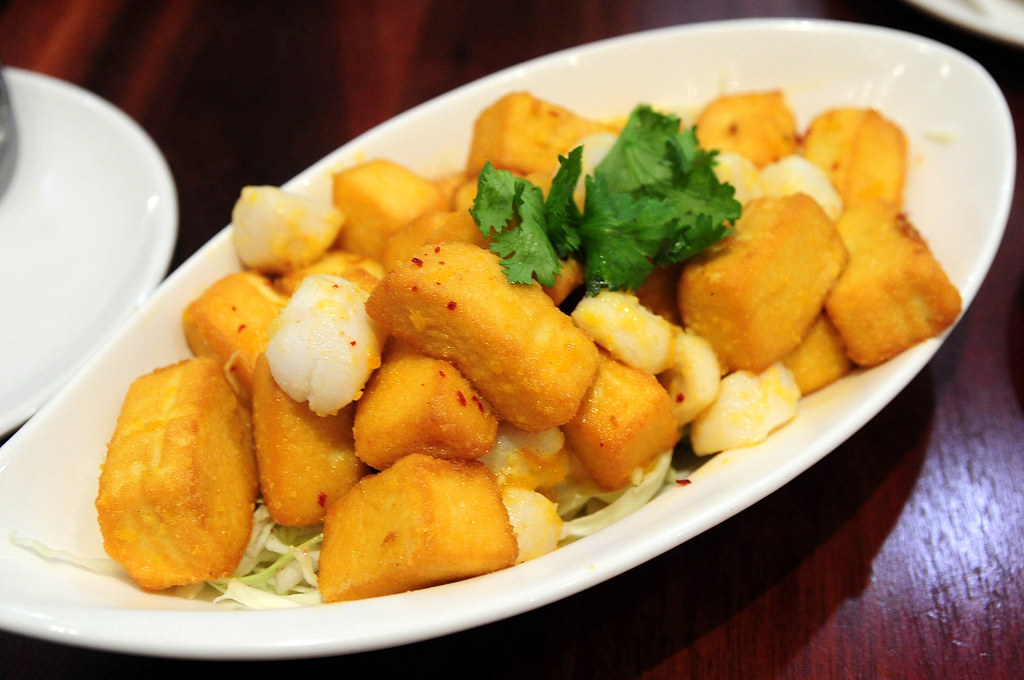 HOJA - 金沙帶子豆腐