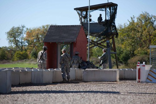 138th - realistic training at Camp Atterbury
