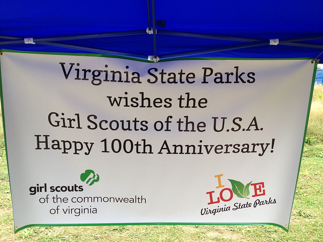 Congratulations Girl Scouts on 100 years!