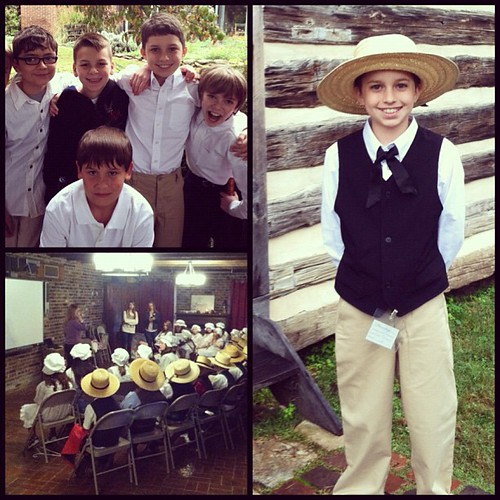 Bringing the classroom to life. Junior docent day at The home of President Andrew Jackson. #homeschool #thehermitage