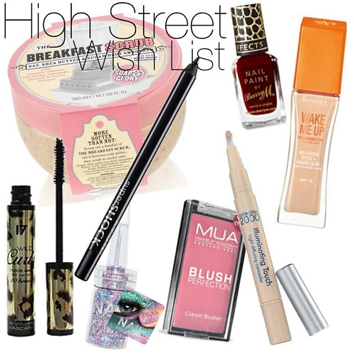 autumn high street wishlist