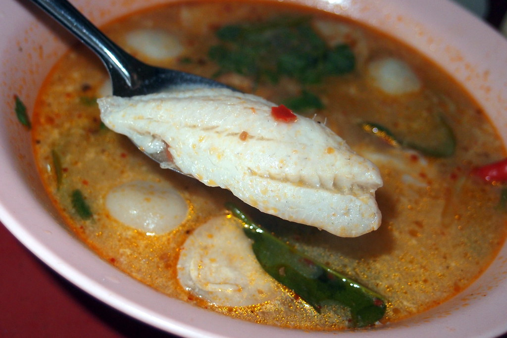 spicy tom yam soup