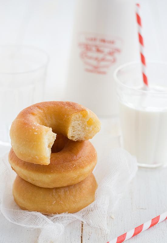 Receta de donut. Cómo hacer donut caseros