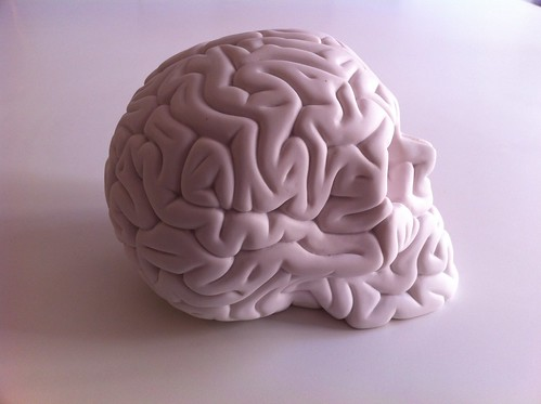 Skull Brain making off by Emilio Garcia