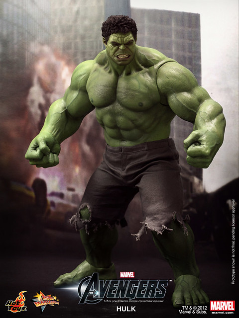Hot Toys - The Avengers - Hulk Limited Edition Collectible Figurine_PR1