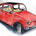 Portrait mécanique - Fiat 500