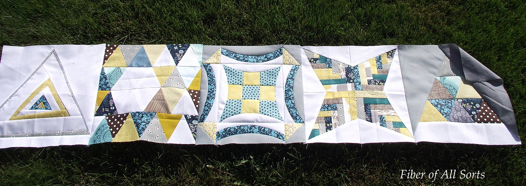 Strip Quilting - foundation row