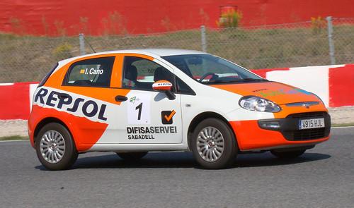 Fiat Punto de Ivan Cano en las ECOseries