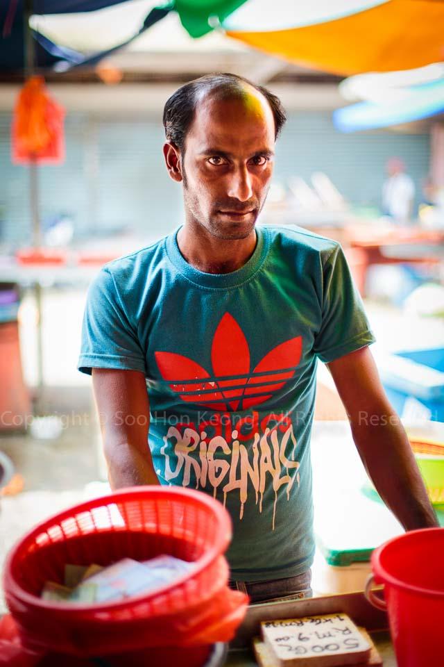 Portrait of Pudu Market @ Kuala Lumpur, Malaysia