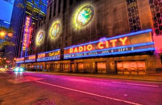 Radio City Music Hall & Lights