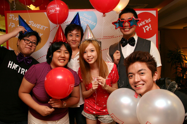 The fun members in my team - Eugene, Valentine, Janice, Malcolm, and Kun!