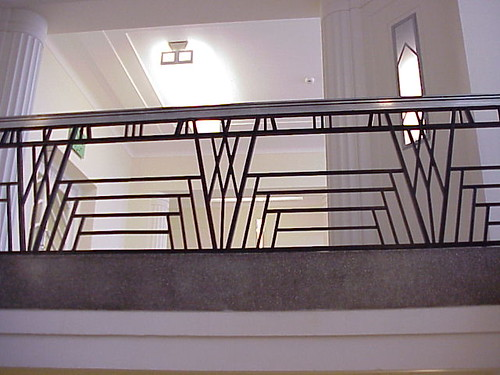 Ballustrade, Hoover Building