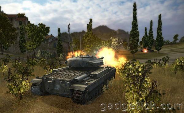 Обновление World of Tanks