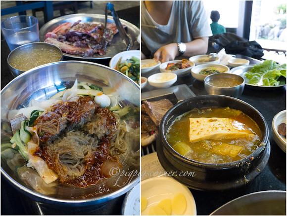 Bonsuwon Galbi 본수원 cold noodles