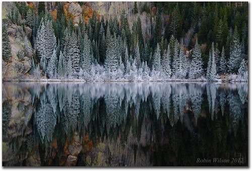 autumn reflection colorado frost calm legacy rockymountainnationalpark bearlake greatphotographers nikond200 cplfilter ostrellina greaterphotographers tpscolorado beforetheduckwokeup sentbackmyd800e f9iso1002sec65mm