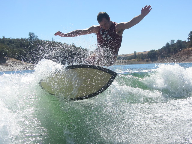 Early October Wakesurfing 349