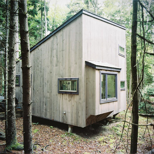 Harpswell Studio SW Elevation.