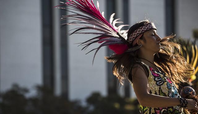 CSUF Aztec Dancer