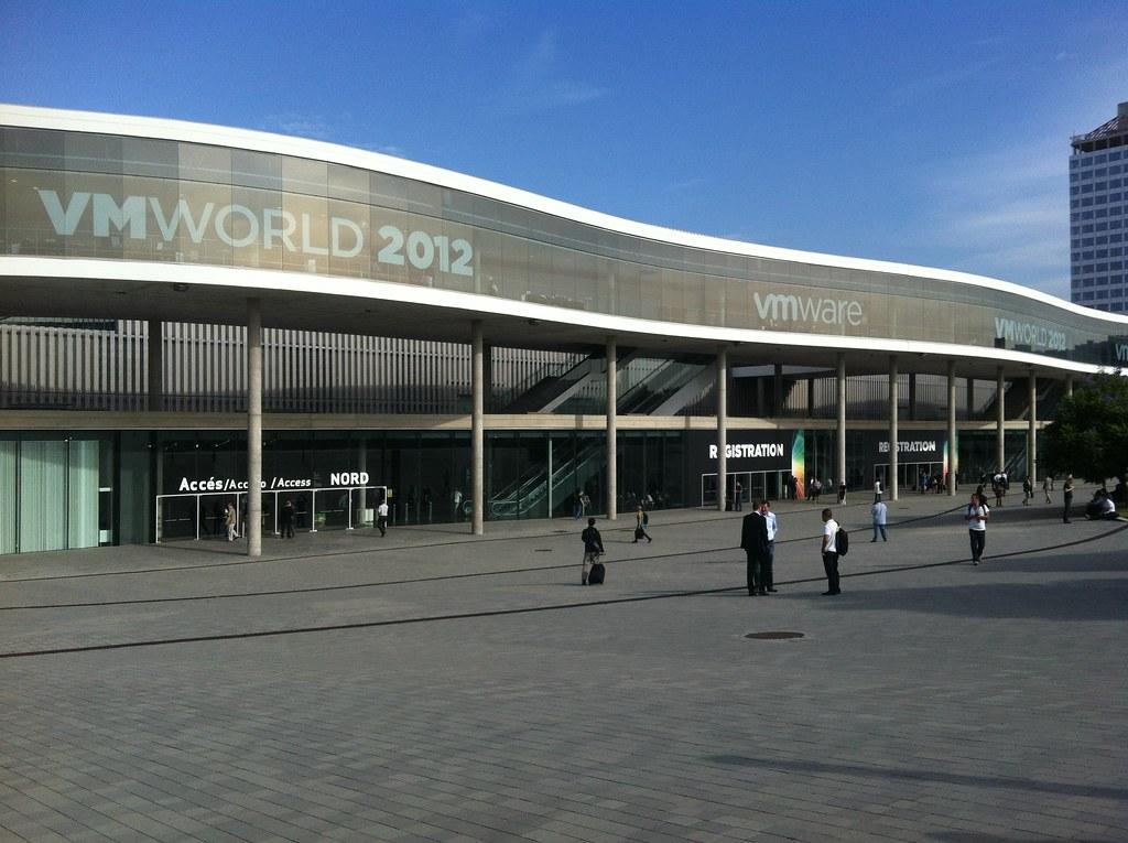 Vmworld 2012 barcelona d a 1pipo e2h soluciones tic for Oficinas vueling barcelona