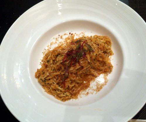 Crab & Sea Urchin Spaghetti