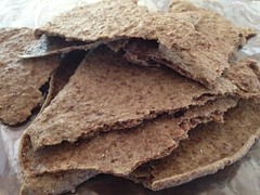 Sourdough Flax Crackers by mikeysklar