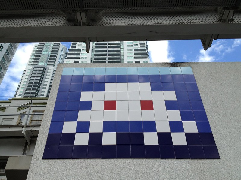 Space Invader NE 2nd Downtown Miami