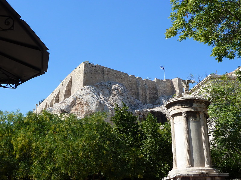 Last Day, Last View of Acropolis