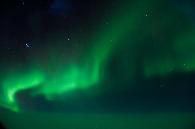 Aurora from the sky