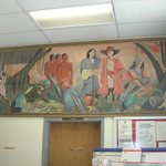Rayville Louisiana Post Office Mural