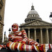 Coloured mummy resting outside Pantheon by Carlos ZGZ