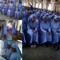 Professions Religieuses chez les Bene Mariya. Busiga (Diocèse Ngozi), 20/8/2016.