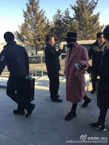 Big Bang - Harbin Airport - 21mar2015 - Kimsoohyun0223 - 03