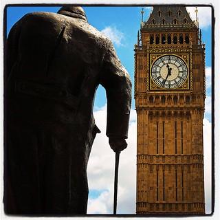 Big Ben and Sir Winston..