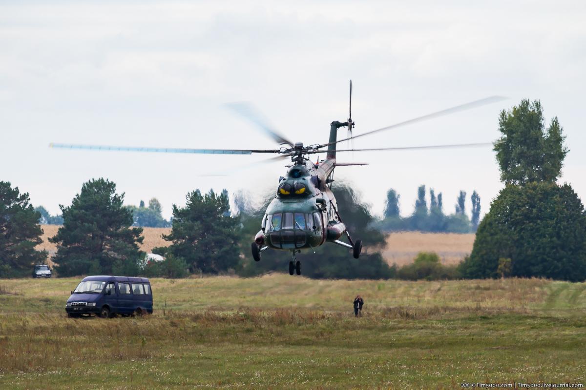 Суровый вертолет