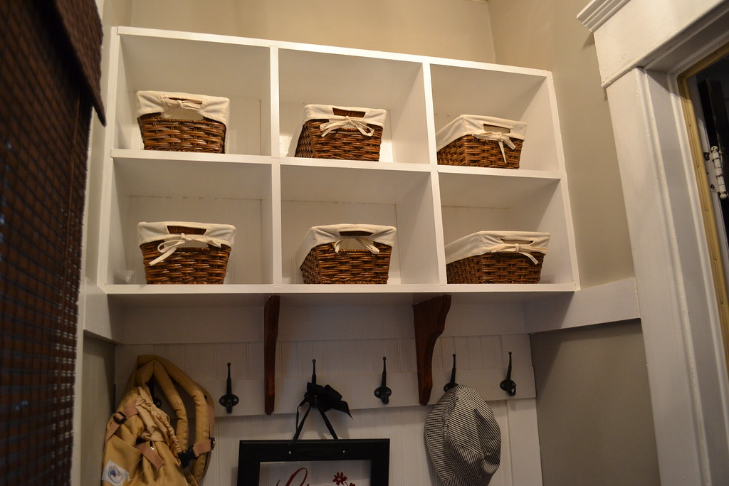 Hack a HEMNES shoe cabinet -- paint and/or those laser cut panels for