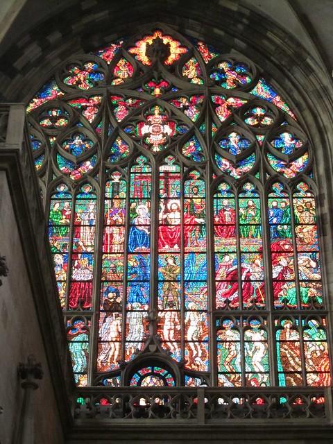 Cristaleras de la catedral de San Vito