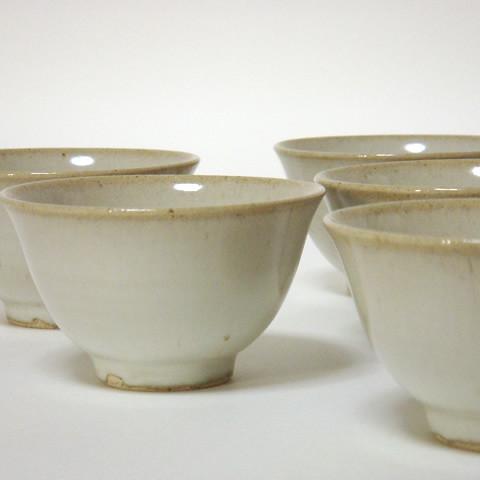 小久慈焼「煎茶碗」