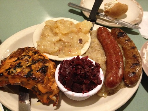 German Sampler at Veigel's Kaiserhoff