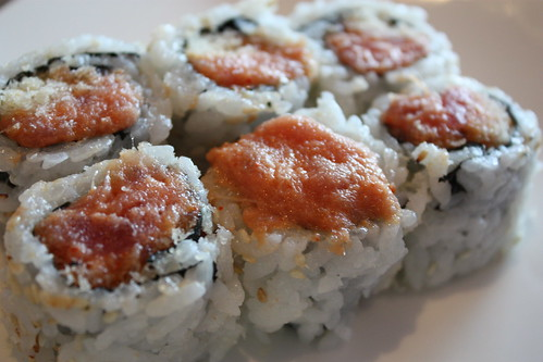 Spring spicy salmon