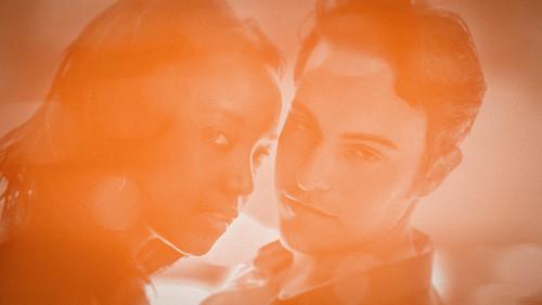 [フリー画像素材] 人物, カップル, 人物 - 二人, 橙色・オレンジ ID:201209030000
