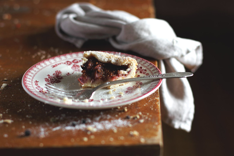 Fig and Raspberry Galette