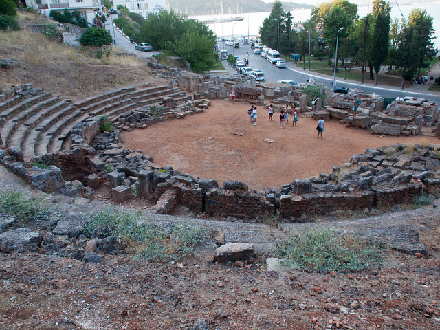 The ruin of Telmessos Theatre